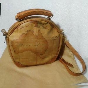 EUC Alviero Martini circle satchel/crossbody Bag